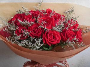 Red rose Bouquet ช่อกุหลาบแดง วาเลนไทน์