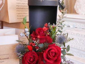 Flower box for Valentine